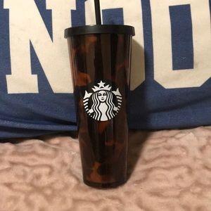 ⭐️ Starbucks tortoise shell Venti cup